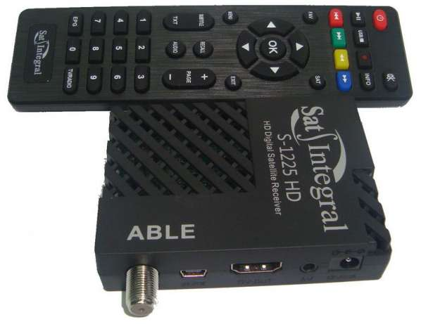 sat integral s 1225 hd able