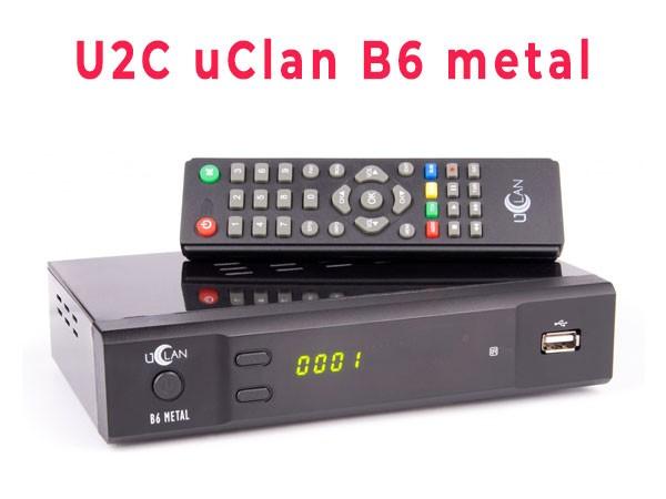 Прошивка тюнера uClan B6 Metal (U2C B6 Metal)