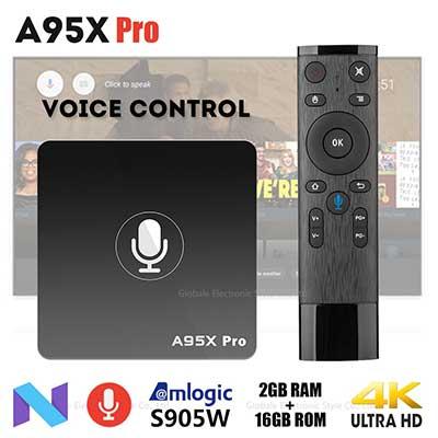 A95X PRO Voice Control