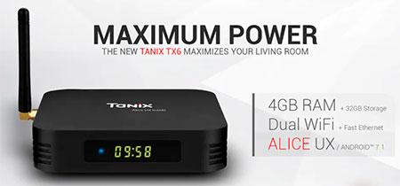 TV Box Tanix TX6