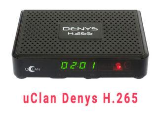 Прошивка ресивера uclan h.265