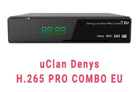 Прошивка ресивера uClan Denys H.265 PRO Combo EU