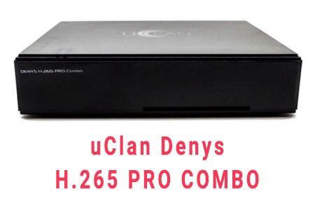Прошивка ресивера uClan Denys H.265 PRO Combo