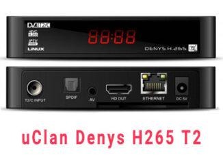 Прошивка uclan h265 t2