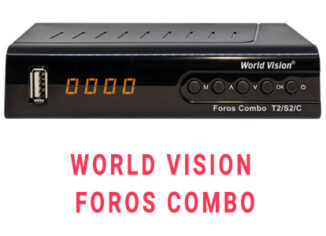 Прошивка ресивера World Vision foros combo