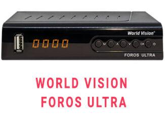 Прошивка ресивера World Vision foros ultra