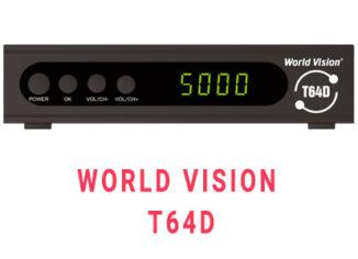 Прошивка ресивера World Vision T64D