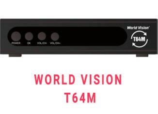 Прошивка ресивера World Vision T64M