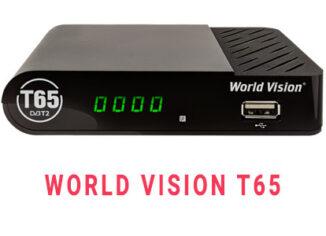Прошивка ресивера World Vision T65