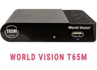 Прошивка ресивера World Vision T65M